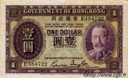 1 Dollar HONG KONG  1935 P.311 TTB