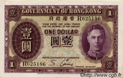 1 Dollar HONG KONG  1936 P.312 SUP+