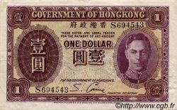 1 Dollar HONG KONG  1936 P.312 TTB