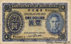1 Dollar HONG KONG  1940 P.316 TTB