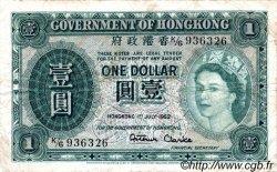 1 Dollar HONG KONG  1952 P.324Aa TB