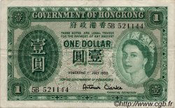 1 Dollar HONG KONG  1958 P.324Ab pr.TTB