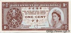 1 Cent HONG KONG  1961 P.325a SPL