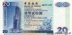 20 Dollars HONG KONG  1994 P.329 TTB+