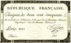 250 Livres FRANCE  1793 Laf.170 SUP
