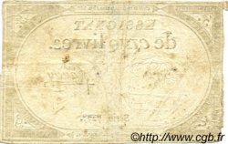 5 Livres FRANCE  1793 Laf.171 TB à TTB
