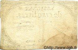 5 Livres FRANCE  1793 Muz.39 TB à TTB