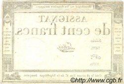 100 Francs FRANCE  1795 Laf.173 TTB