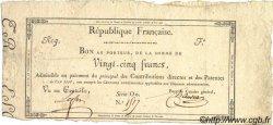 25 Francs FRANCE  1798 Laf.215 TTB