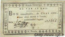 100 Livres FRANCE  1794 Laf.277 TTB