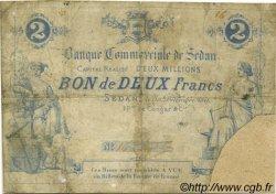 2 Francs FRANCE régionalisme et divers SEDAN 1871 JER.08.14B AB