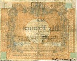 10 Francs FRANCE régionalisme et divers  1870 BPM.063.22 TB