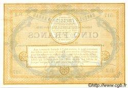 5 Francs FRANCE régionalisme et divers  1870 BPM.082.01 NEUF