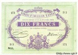 10 Francs FRANCE régionalisme et divers  1870 BPM.082.01 SPL