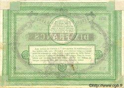 10 Francs FRANCE régionalisme et divers  1870 BPM.082.01 TTB+