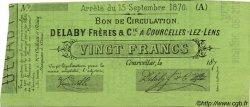 20 Francs FRANCE régionalisme et divers  1870 JER.62.13F NEUF