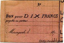 10 Francs FRANCE régionalisme et divers MAZINGARBE 1870 JER.62.20C TTB