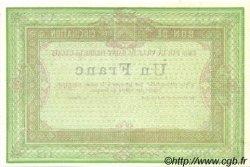 1 Franc FRANCE régionalisme et divers Saint-Pierre-Lez-Calais 1870 JER.62.26A NEUF