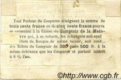 50 Centimes FRANCE régionalisme et divers  1871 JER.76.09A TTB
