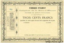 300 Francs FRANCE régionalisme et divers Elbeuf 1870 JER.76.10A SPL