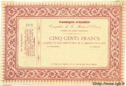 500 Francs FRANCE régionalisme et divers ELBEUF 1870 JER.76.10B SPL