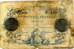 25 Francs CLERMONT FERRAND Faux FRANCE  1870 F.A44.01 B