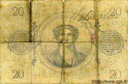 20 Francs 1871 FRANCE  1871 F.A46.02 B