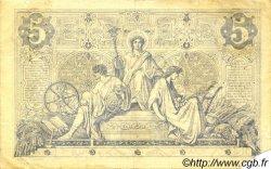 5 Francs NOIR FRANCE  1872 F.01.10 TTB