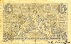 5 Francs NOIR FRANCE  1873 F.01.17 TB