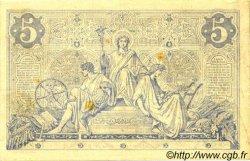 5 Francs NOIR FRANCE  1873 F.01.20 TTB+