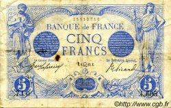 5 Francs BLEU FRANCE  1912 F.02.07 TB+