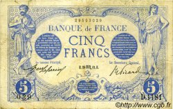 5 Francs BLEU FRANCE  1912 F.02.10 TB