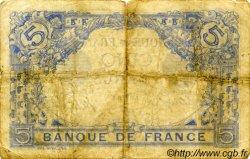 5 Francs BLEU FRANCE  1914 F.02.22 pr.TB