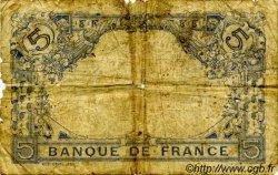 5 Francs BLEU FRANCE  1915 F.02.25 pr.B