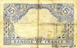 5 Francs BLEU FRANCE  1915 F.02.27 pr.TTB