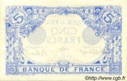5 Francs BLEU FRANCE  1915 F.02.29 SPL+