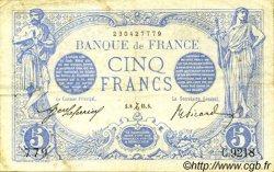 5 Francs BLEU FRANCE  1915 F.02.34 TTB