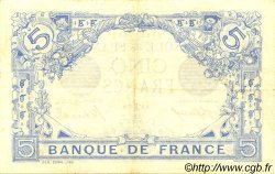 5 Francs BLEU FRANCE  1915 F.02.34 pr.SUP