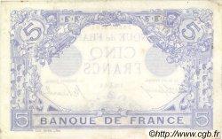 5 Francs BLEU FRANCE  1915 F.02.34 TTB+ à SUP