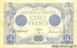 5 Francs BLEU FRANCE  1916 F.02.36 SUP