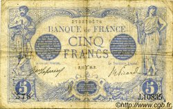 5 Francs BLEU FRANCE  1916 F.02.37 pr.TB
