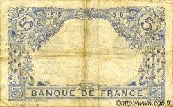 5 Francs BLEU FRANCE  1916 F.02.37 TB