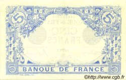5 Francs BLEU FRANCE  1916 F.02.38 SUP à SPL