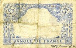 5 Francs BLEU FRANCE  1916 F.02.39 TB+