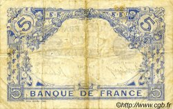 5 Francs BLEU FRANCE  1916 F.02.41 pr.TTB