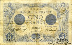 5 Francs BLEU FRANCE  1916 F.02.42 TB