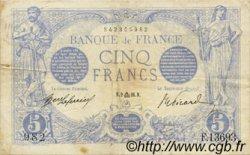 5 Francs BLEU FRANCE  1916 F.02.43 TTB