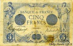 5 Francs BLEU FRANCE  1916 F.02.45 TB