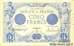 5 Francs BLEU FRANCE  1916 F.02.46 TTB+