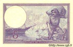 5 Francs VIOLET FRANCE  1918 F.03.02 SPL+